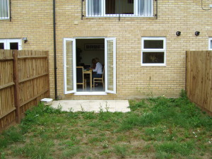 Small Modern Garden - old-uxbridge-garden