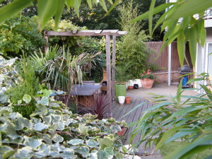 Urban Space for Entertaining - planting-london