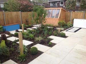 Cool Contemporary - ruislip-garden-design