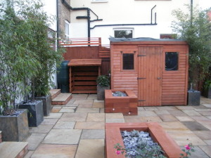Urban Oasis - south-london-garden