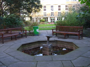 Grey Coats School - the-old-water-feature