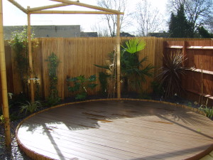 Small Modern Garden - uxbridge-garden-design