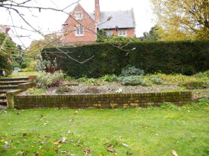 The Parsonage - view-of-the-lawn-and-old-beds