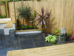 Garden Room - water-feature