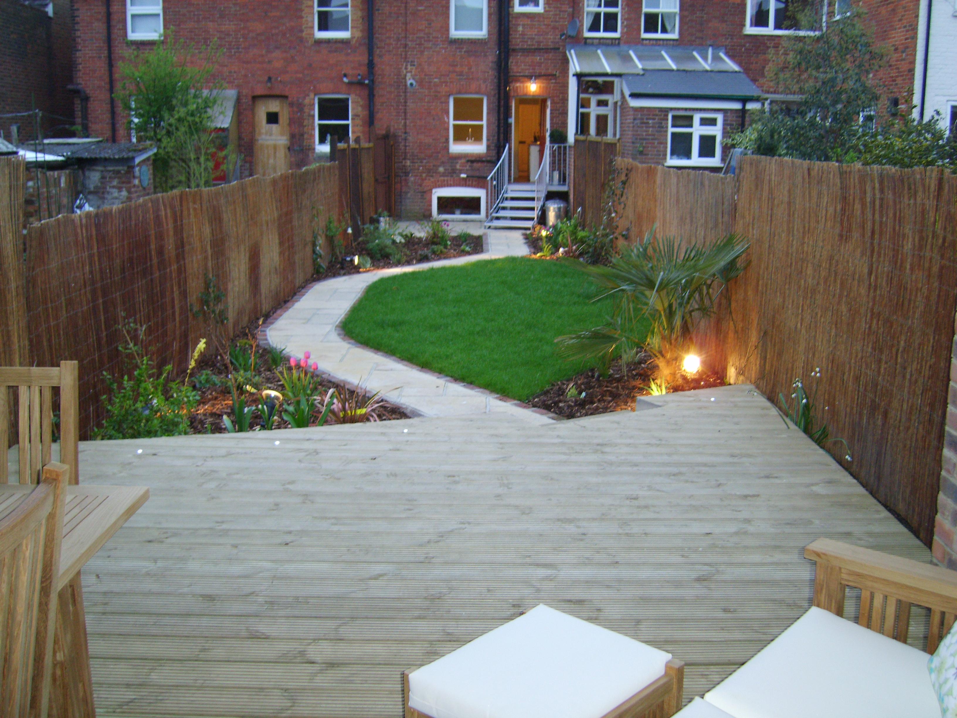 Garden Design Long Narrow long thin gardens on pinterest narrow garden garden design and