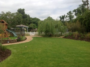 Pavilion and Pool House Garden - willow