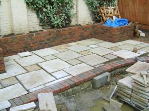 Garden for a New House - wimbledon-patio