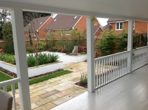 Colonial Character - wrap-around-porch