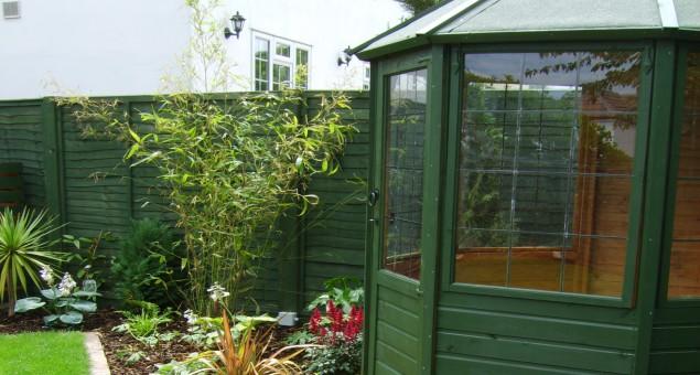 Garden Design New Build House