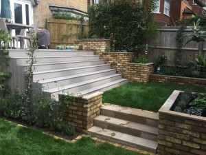 Hampstead Garden Design - dont-worry-we-will-trim-the-grass-before-we-are-finished