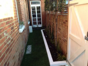 Guildford Garden Design - a-view-down-to-the-house