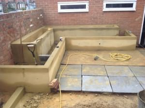 Guildford Garden Design - patio-and-beds