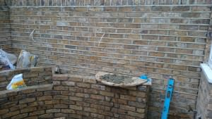 Rear garden in Richmond - getting-there