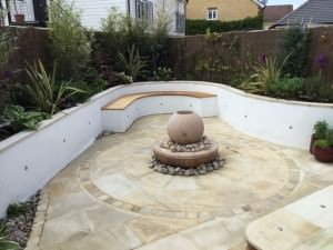 Kool in Caterham - caterham-garden-design