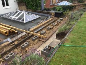 Garden Design Oxted - making-progress