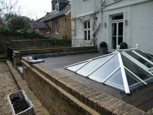 Garden Design Oxted - old-skylight-space