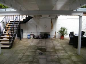 Subterranean London Garden - under-the-bridge