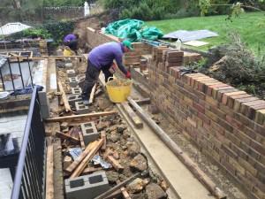 Garden Design Oxted - work-begins