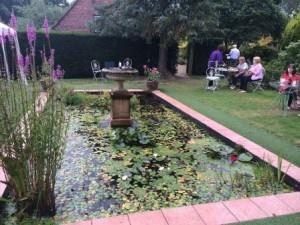 formal fish pond
