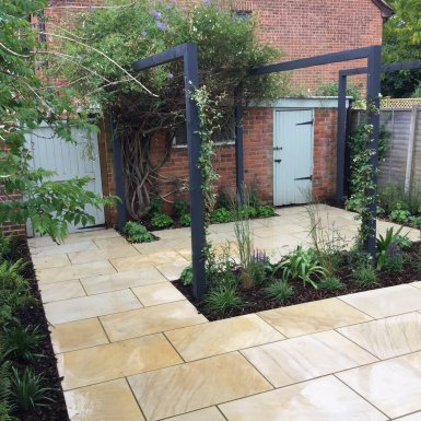 Contemporary Gardens Design Ideas Made Real At FloralHardy UK - Contemporary garden ideas uk