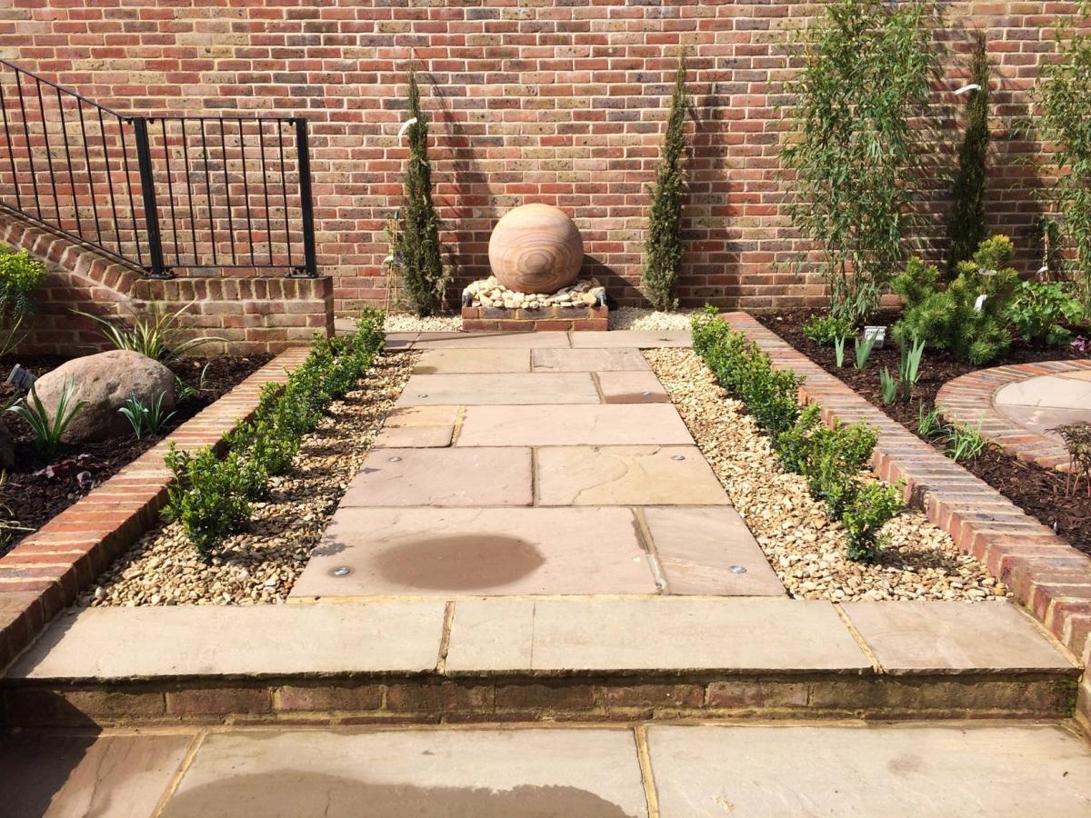 Kent Garden Designers Landscaping Floral Hardy UK